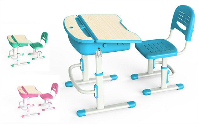 Wymo Kidz Bureau Et Chaise Ergonomique