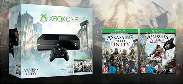 Assassin 39 s creed unity et rogue assurez vous d 39 avoir la bonne console - La xbox one lit elle les jeux xbox 360 ...
