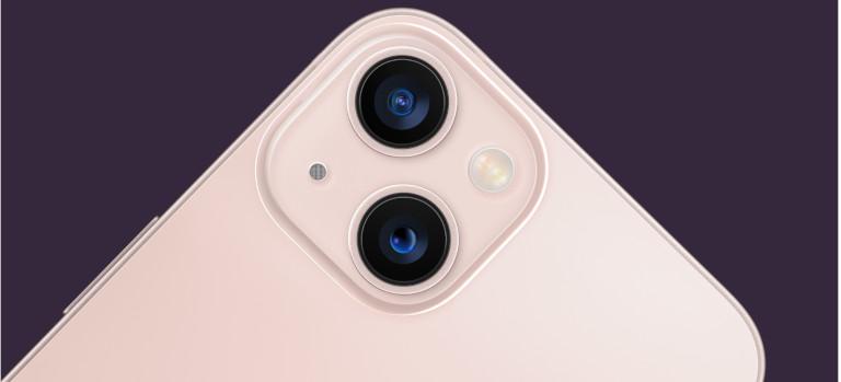 iPhone 13 mini caméra design