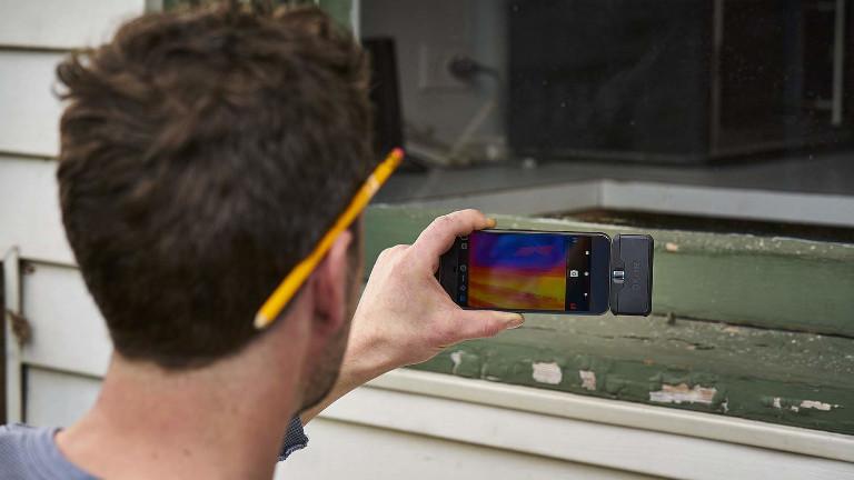 Caméra thermique Flir One Pro téléphone intelligent