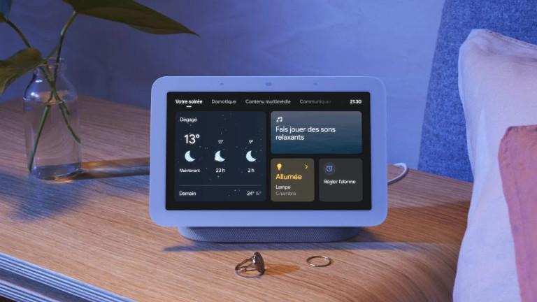 Google Nest Hub 2e génération alarme sommeil