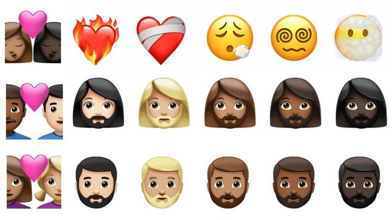 aperçu nouveaux emojis iOS 14.5