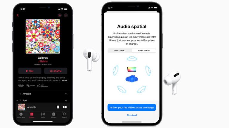apple music audio spatial lossless audio disponible tous abonnés