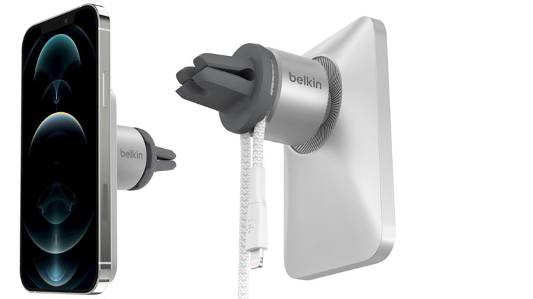 design support voiture PRO Belkin iPhone 12 MagSafe
