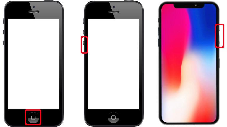 Lancer mode récupération iPhone