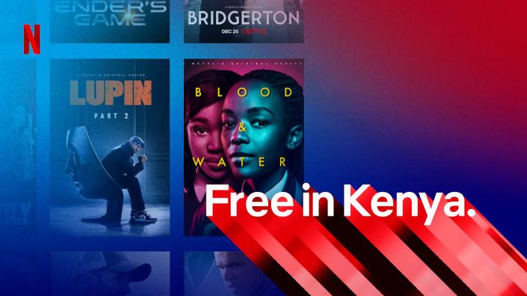 Netflix offre gratuite Kenya