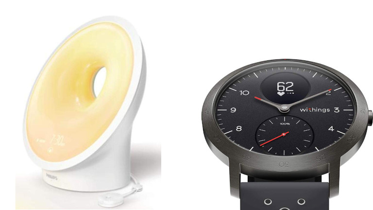 Lampe SmartSleep Montre Withings