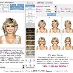 coiffure virtuelle avec votre photo!