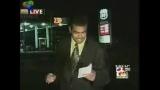 Reporter arrosé pendant un bulletin de nouvelles - Bloopers!