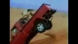 Se faire éjecter d'une camionnette
