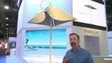 Ce parasol suit le soleil pour vous offrir continuellement de l'ombre