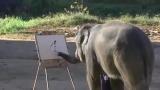 Un éléphant très artistique