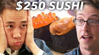 Sushis � 3$ ou sushis � 250$?