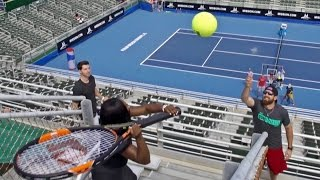 Serena Williams fait des tours d'agilit�